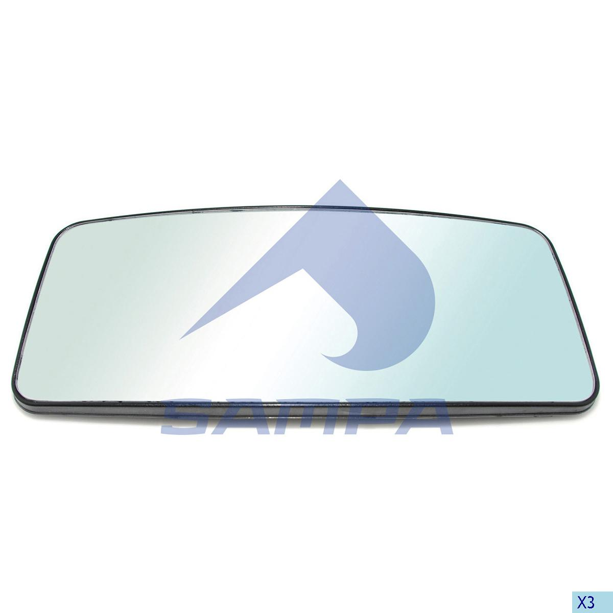 Mirror Glass, Mercedes, Cab