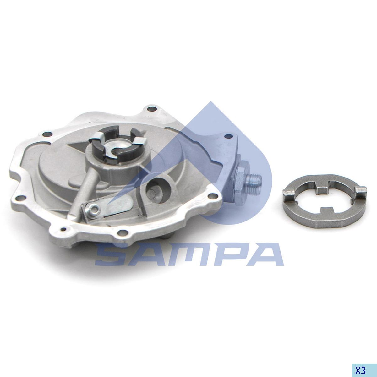 Vacuum Pump, Brake System, Mercedes, Brake