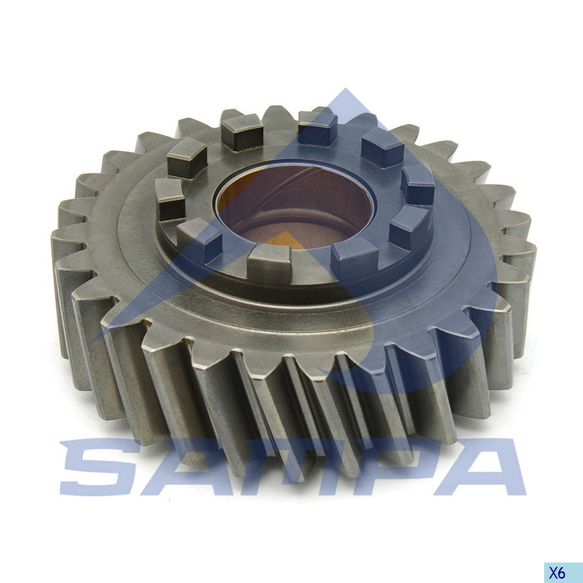 Gear, Distribution Shaft, Mercedes, Power Unit