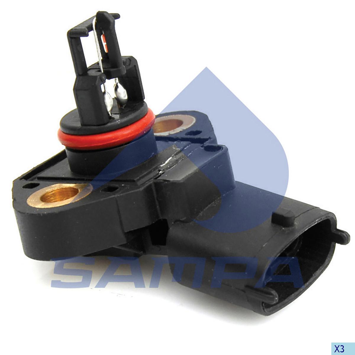 Sensor, Intake Manifold, Mercedes, Engine