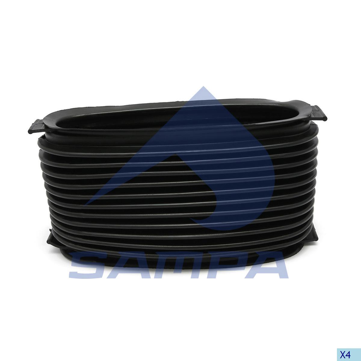 Bellow, Air Filter, Mercedes, Engine