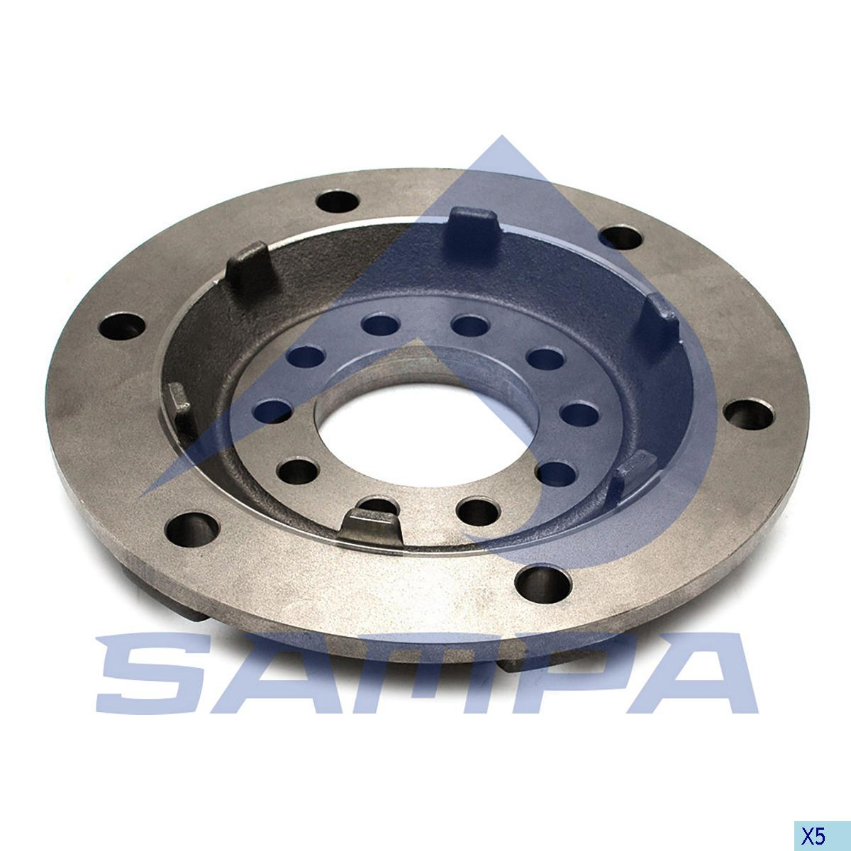 Flange, Wheel Hub, Mercedes, Power Unit