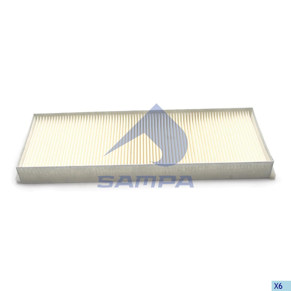 Filter, Cab Heating & Ventilation, Mercedes, Cab