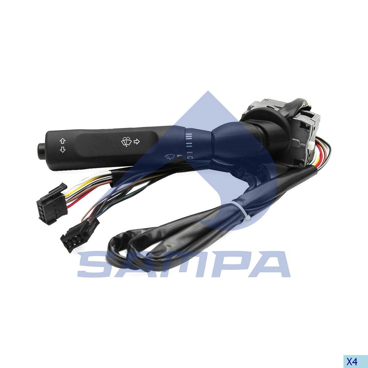 Signal Control Arm, Mercedes, Cab