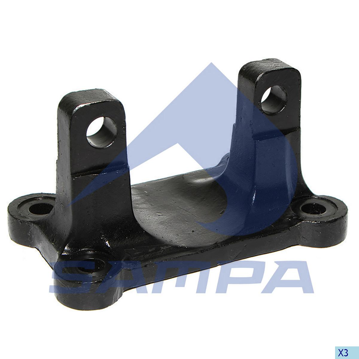 Bracket, Axle Rod, Mercedes, Suspension