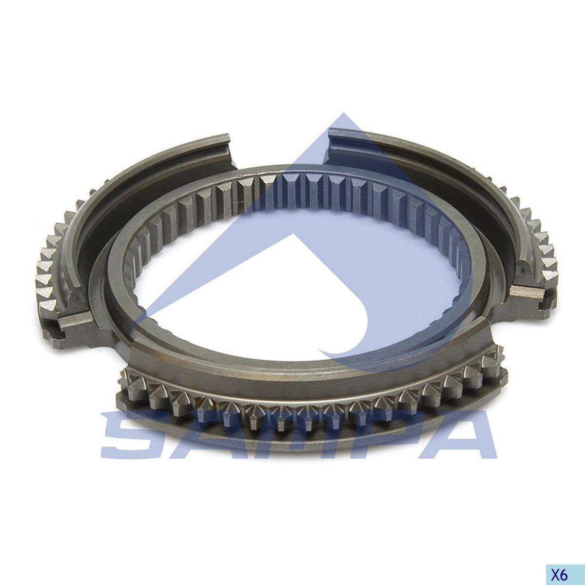 Synchronizing Ring, Main Shaft, Mercedes, Gear Box