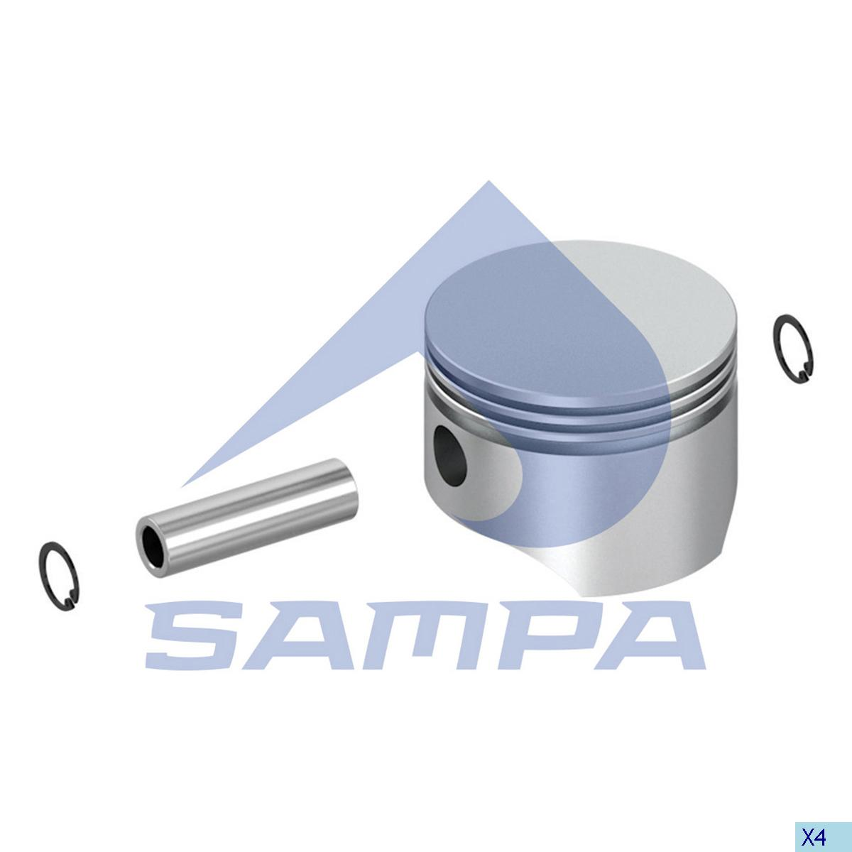 Piston, Mercedes, Compressed Air System