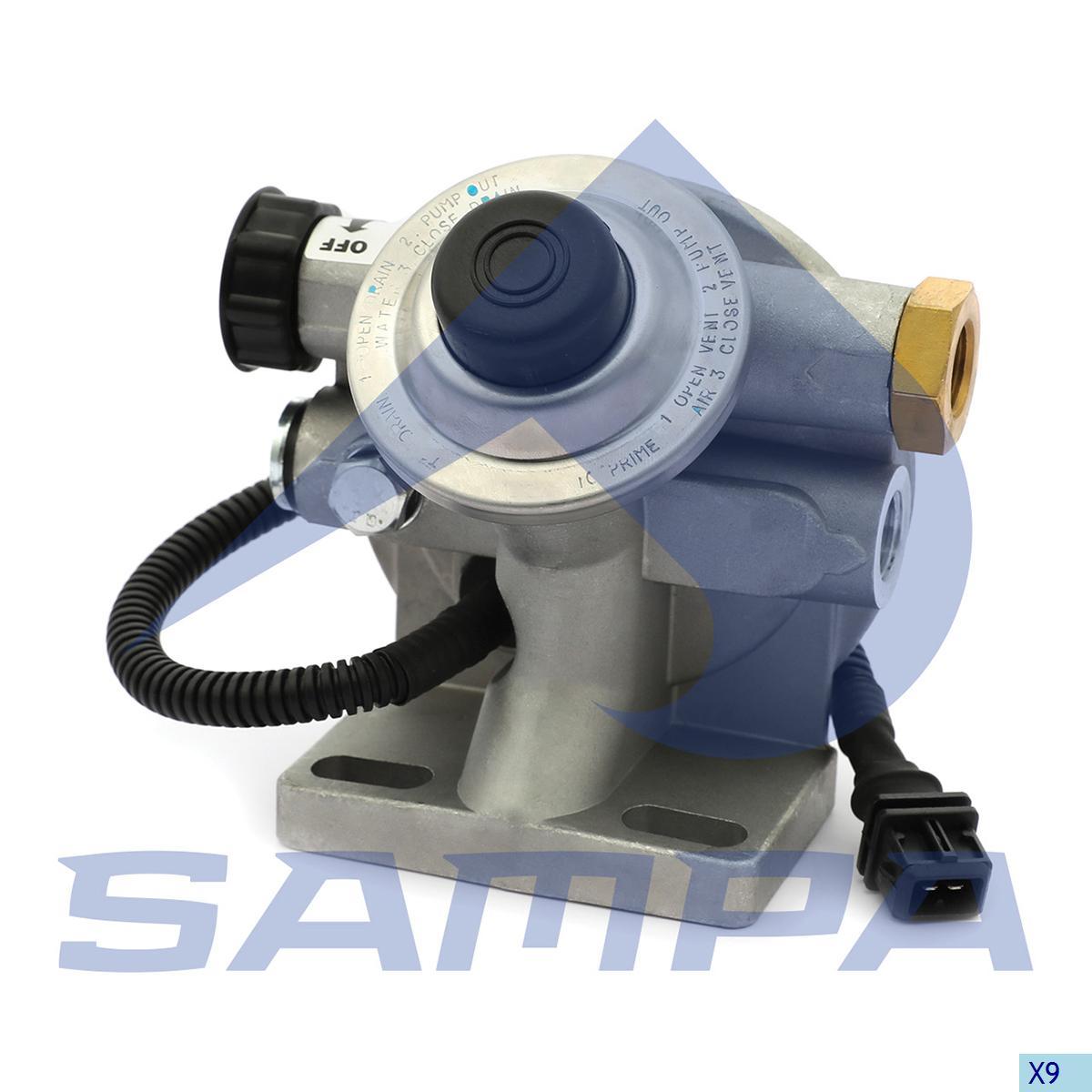 Head, Fuel Filter, Mercedes, Engine