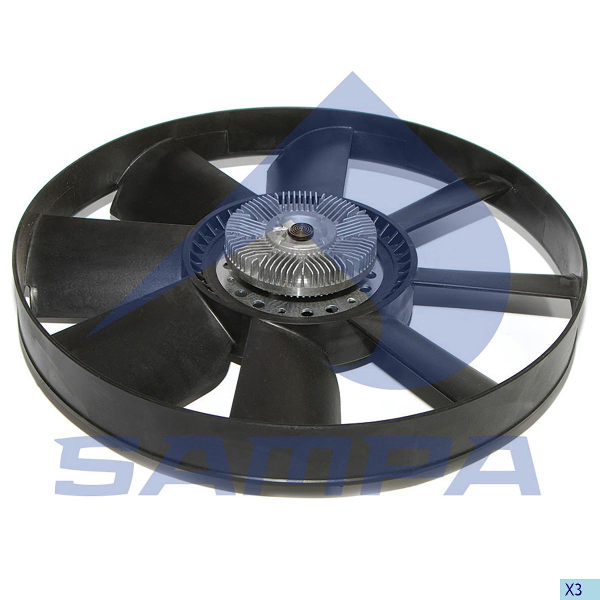 Visco Fan, Mercedes, Engine