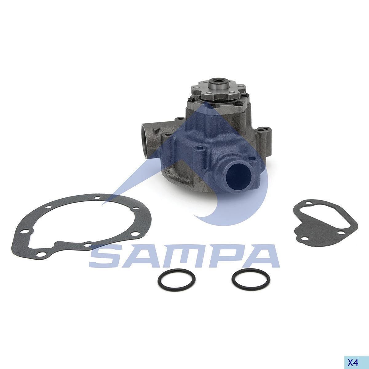 Water Pump, Mercedes, Engine