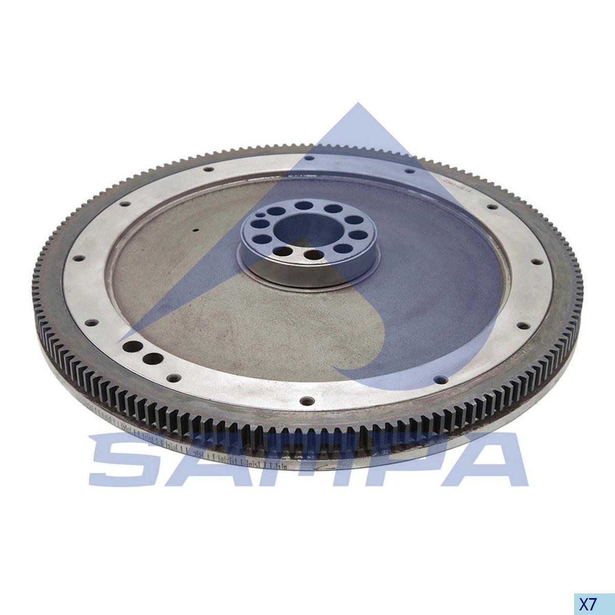 Flywheel, Mercedes, Engine