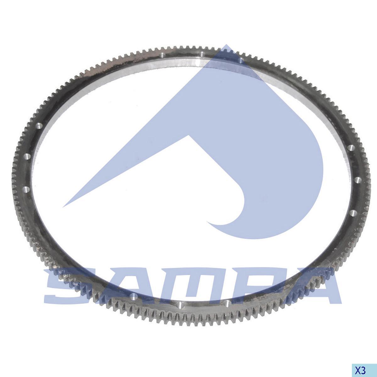 Starter Ring Gear, Mercedes, Engine