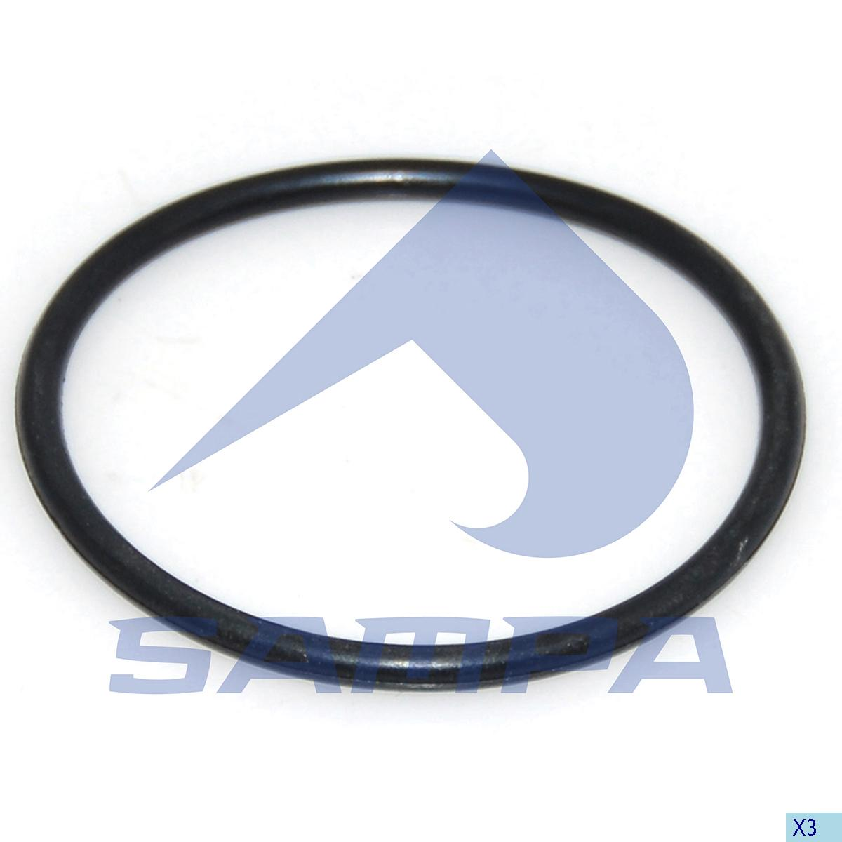 Gasket, Thermostat, Mercedes, Engine