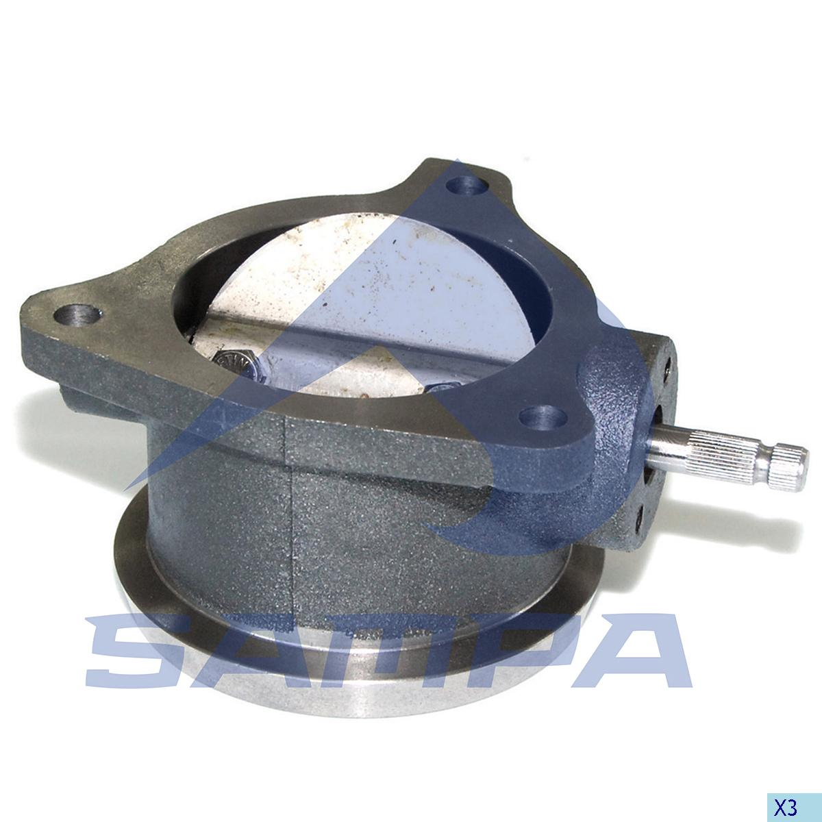 Throttle, Exhaust Brake, Mercedes, Brake