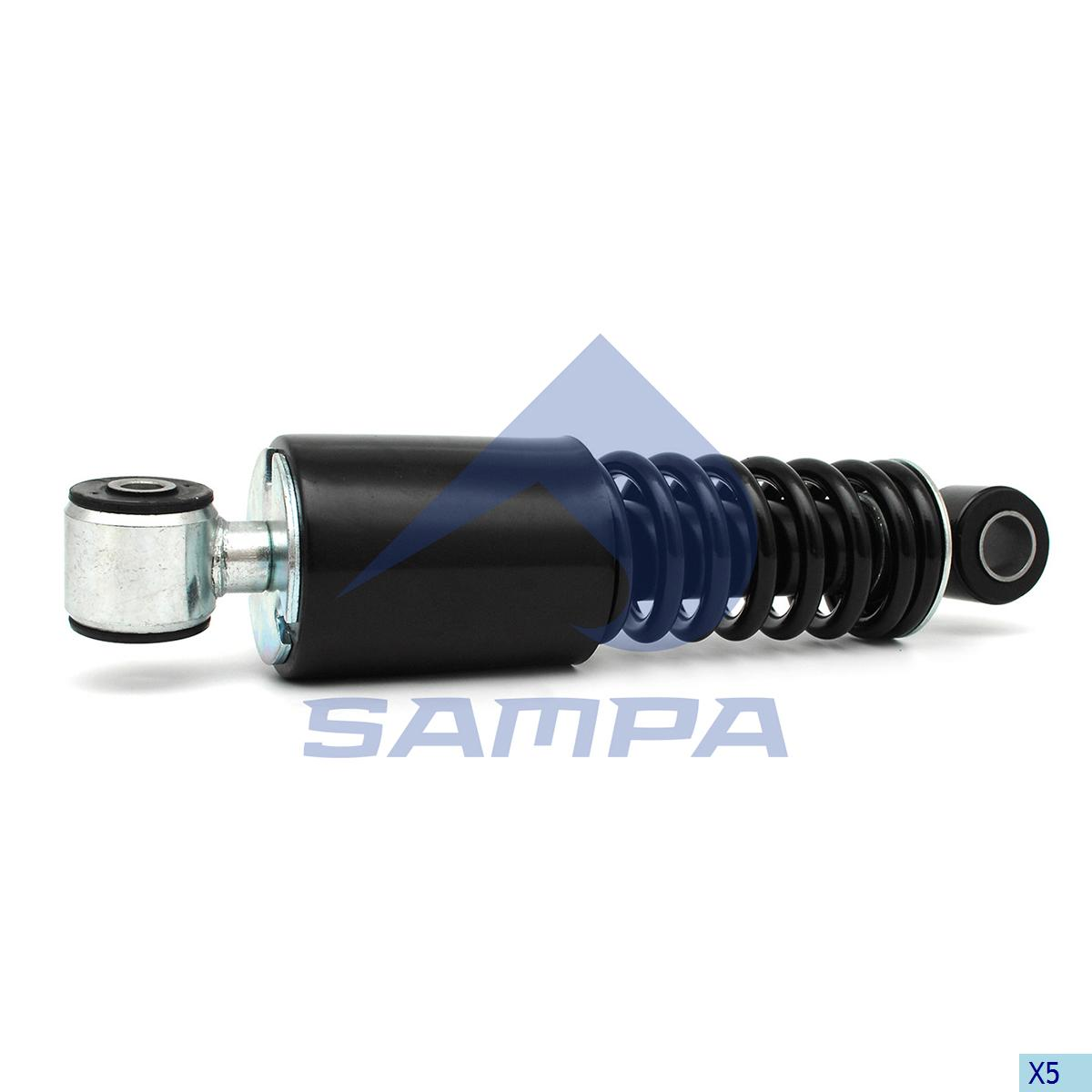 Compression Spring, Cab, Mercedes, Cab