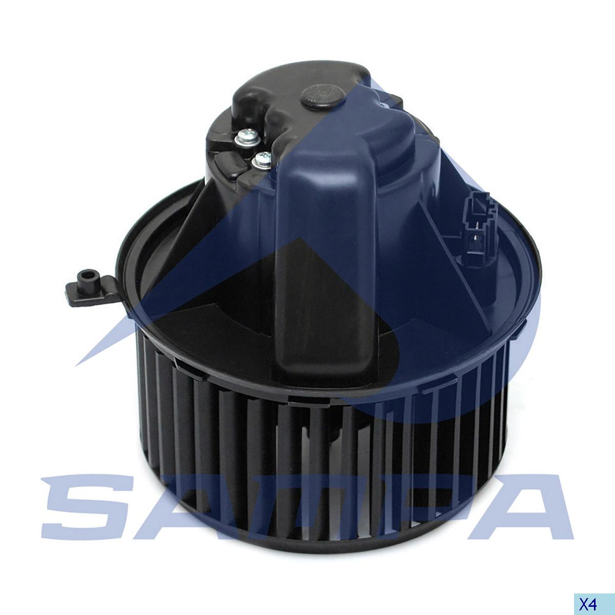 Heater Fan, Cab Heating & Ventilation, Mercedes, Cab