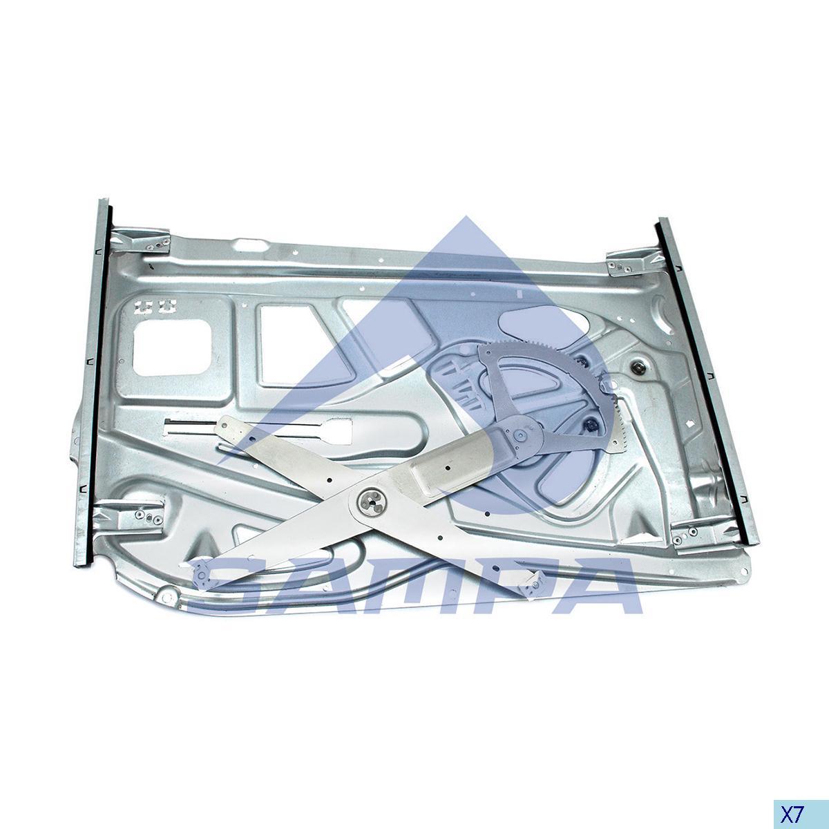 Lift, Door Window, Mercedes, Cab