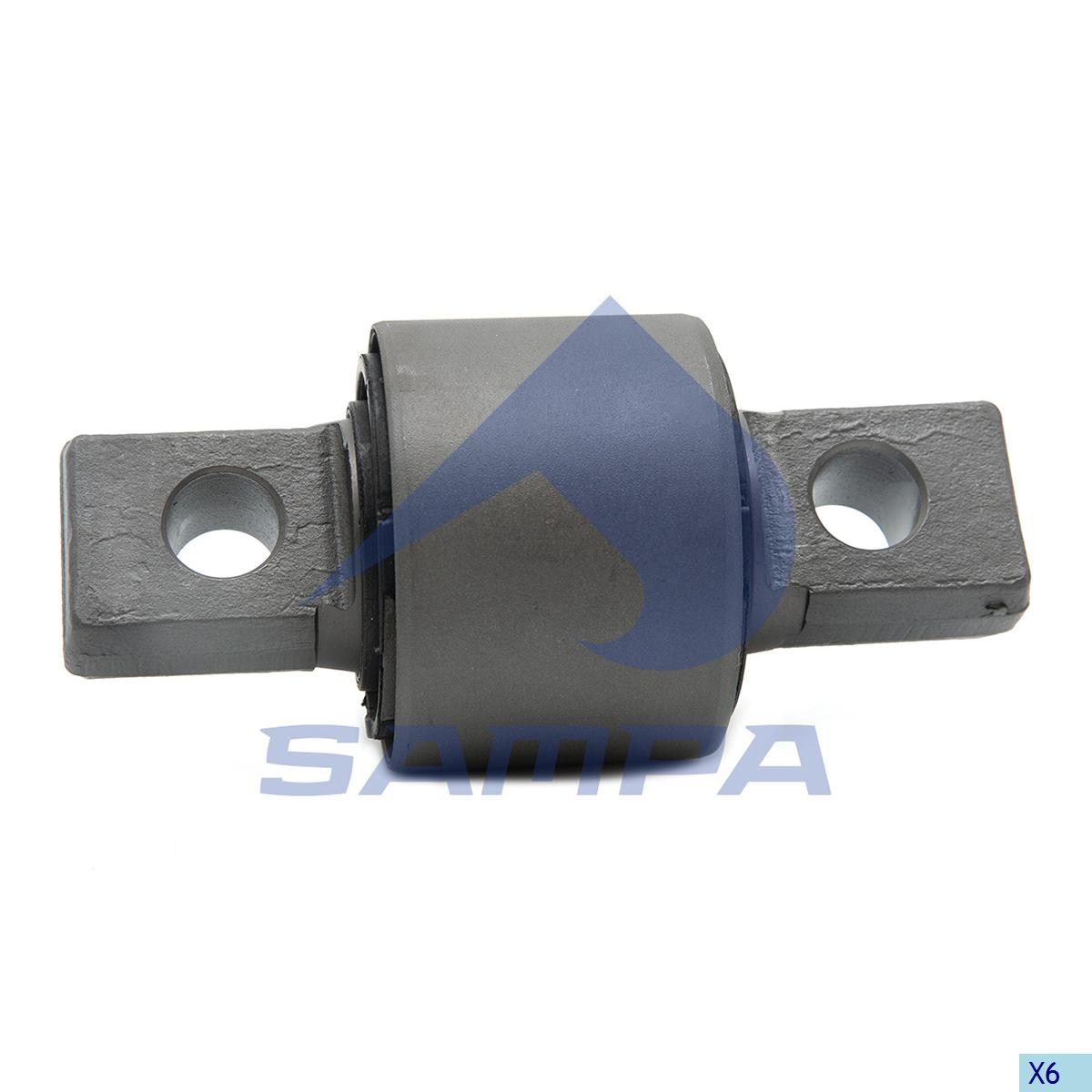 Rubber Bushing, Axle Rod, Mercedes, Suspension