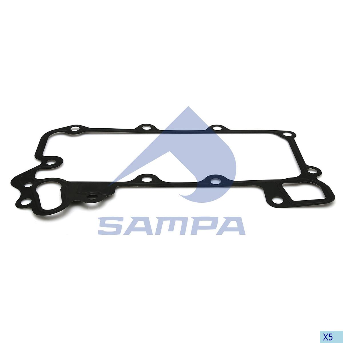 Gasket, Oil Cooler, Mercedes, Engine