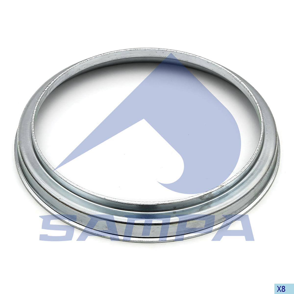 Spacer Ring, Wheel Hub, Mercedes, Power Unit