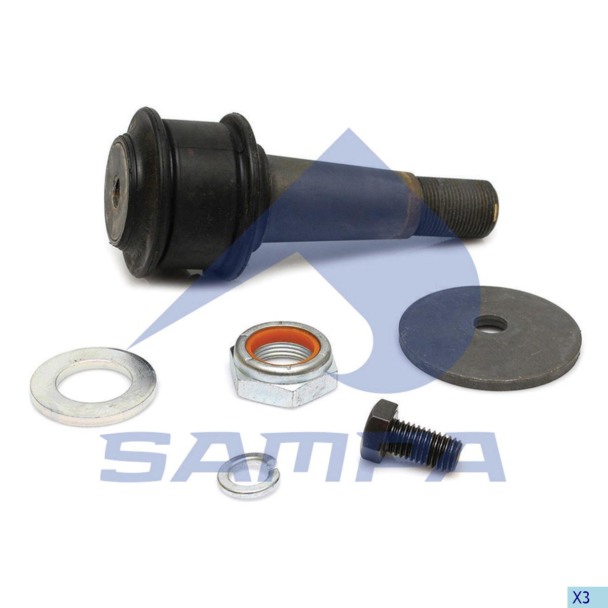 Silent Block, Axle Rod, Hendrickson, Suspension