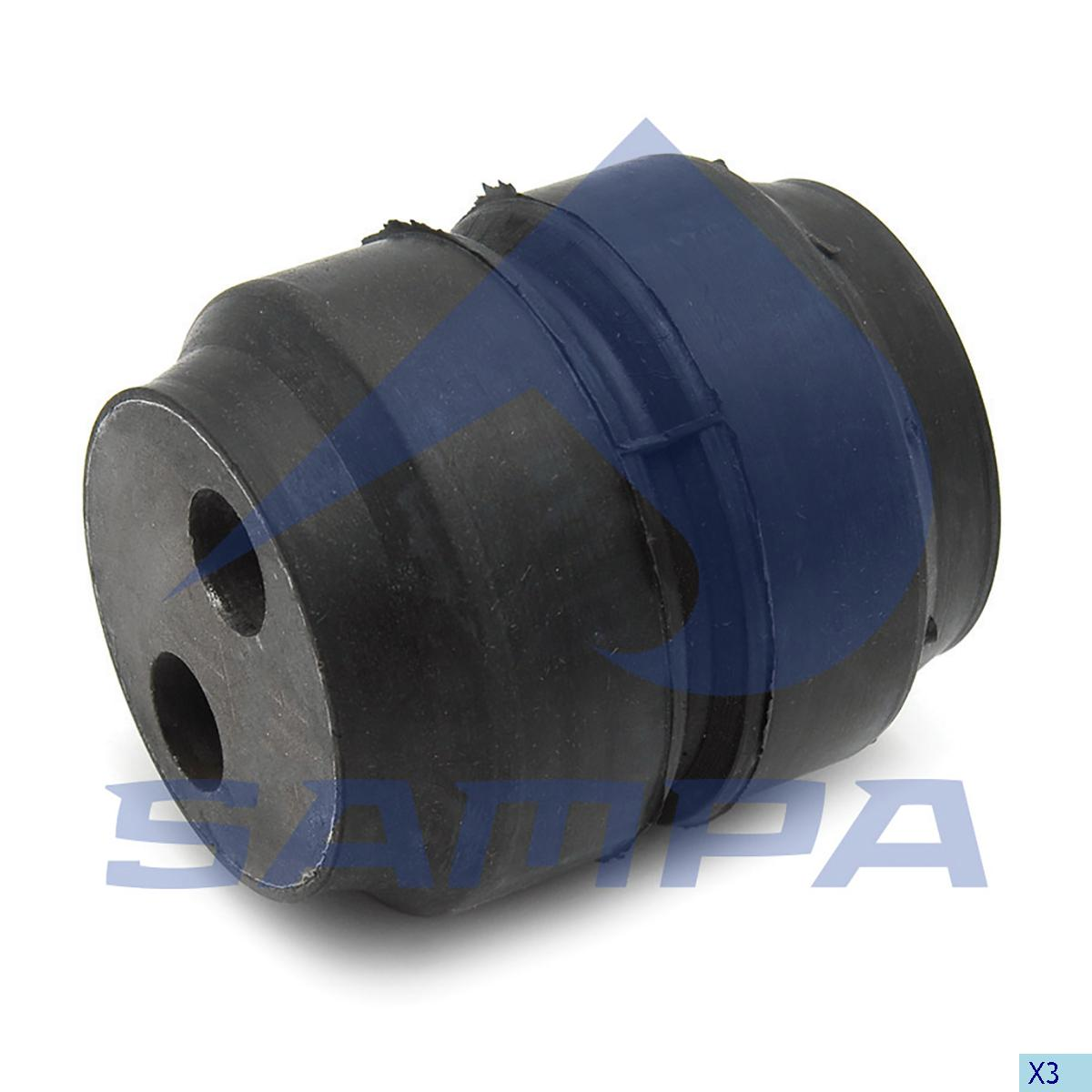 Rubber Bushing, Spring, Fruehauf, Suspension