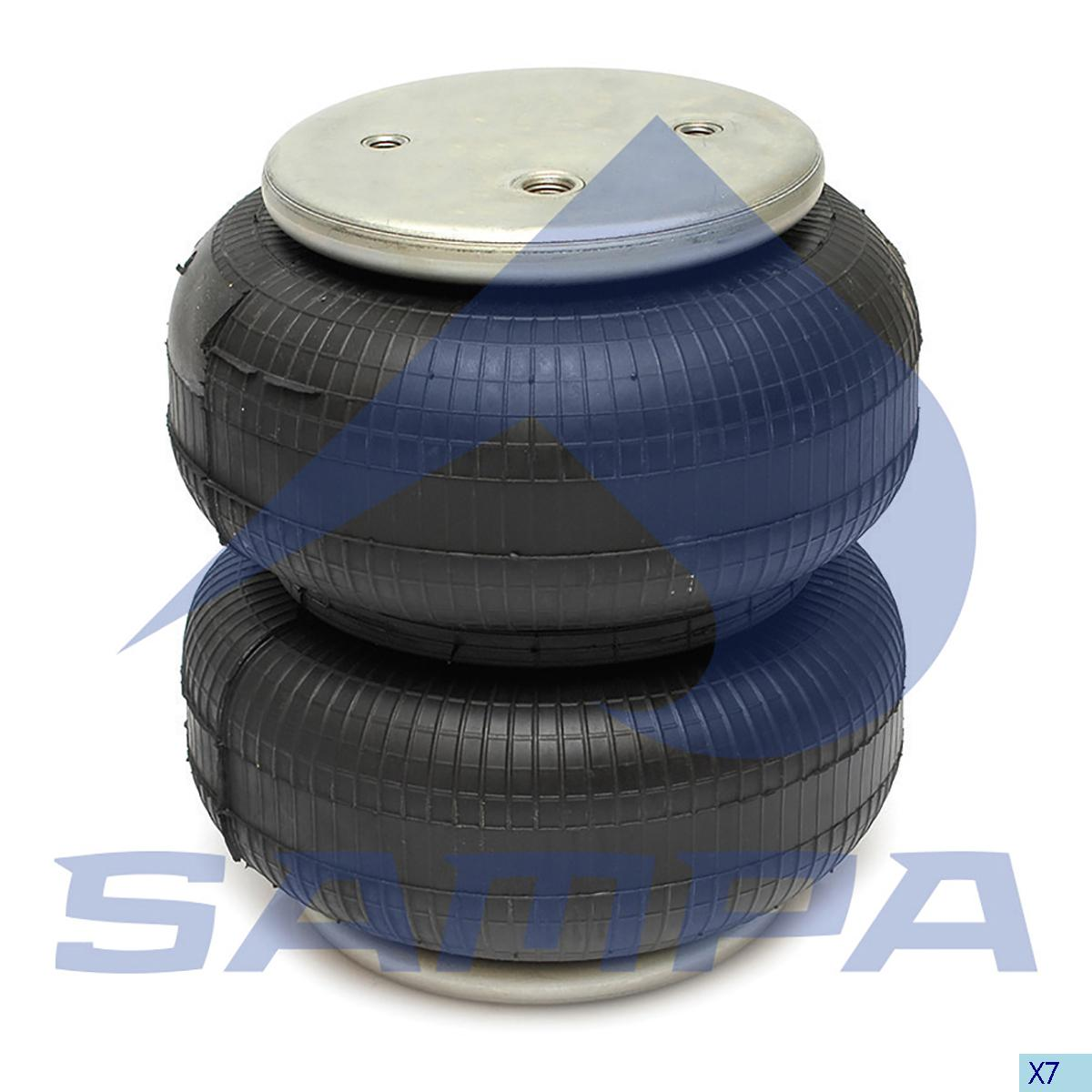 Air Spring, Scania, Suspension