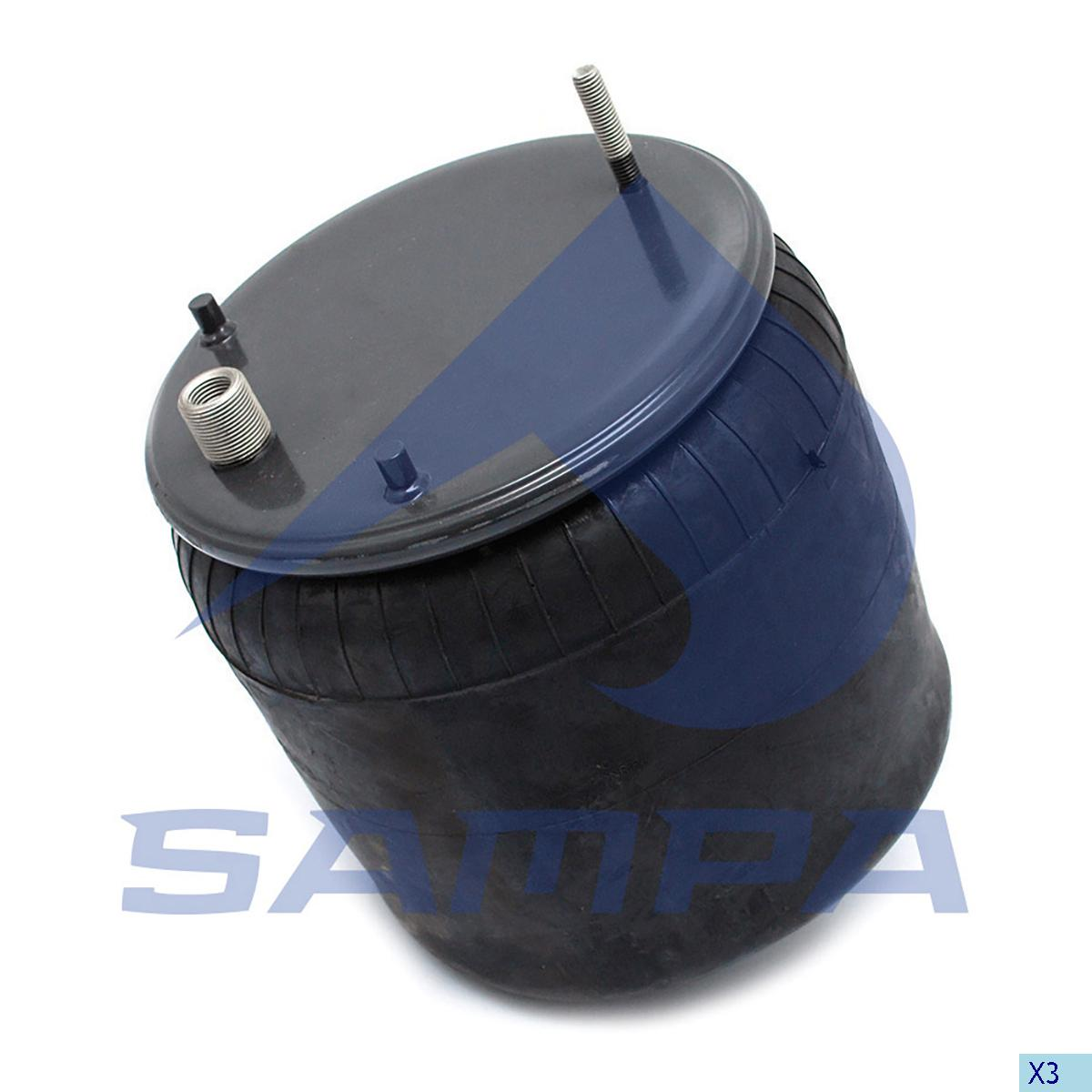 Air Spring, Volvo, Suspension