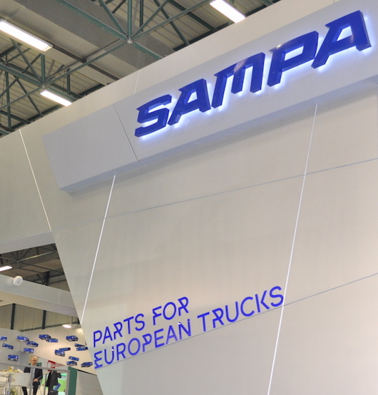 Sampa Has Carried Its Growth Rate To Its Logo!