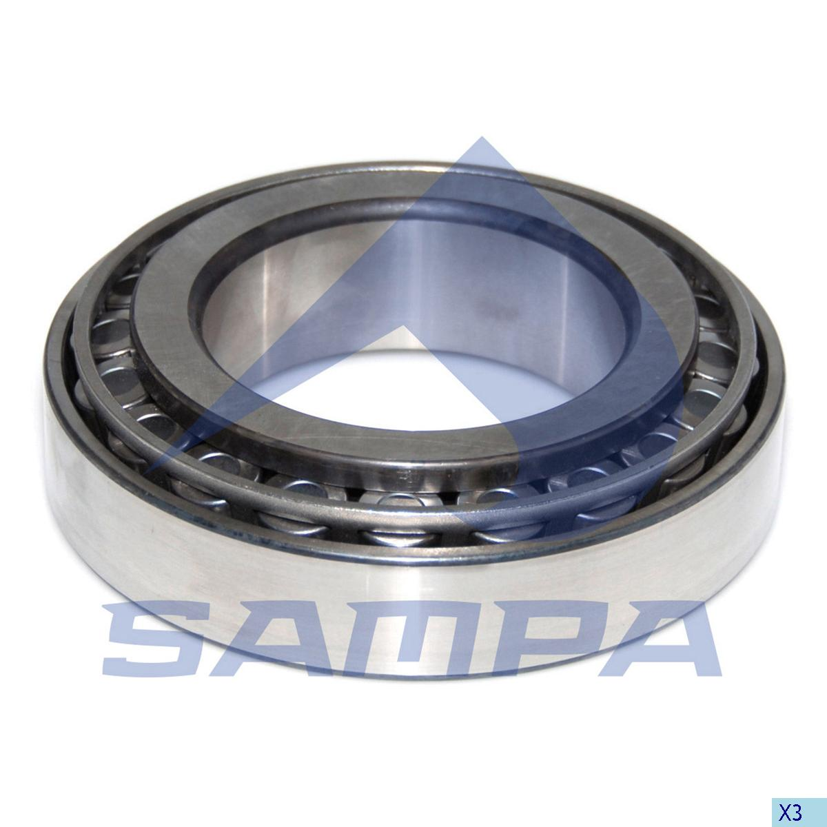 Bearing, Wheel Hub, Iveco, Power Unit