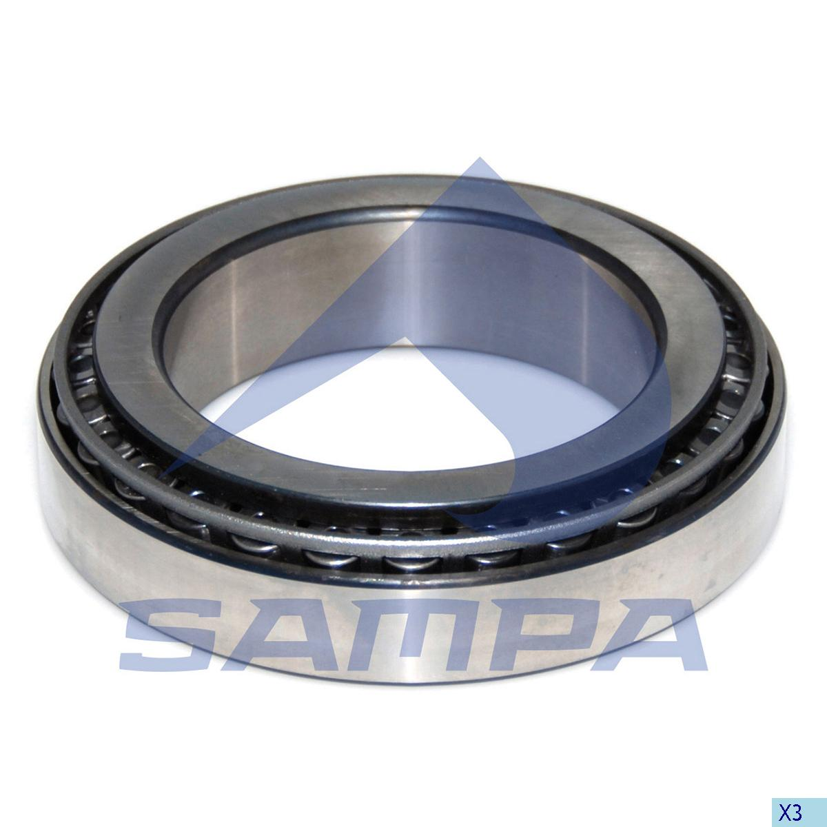 Bearing, Distribution Shaft, Iveco, Power Unit