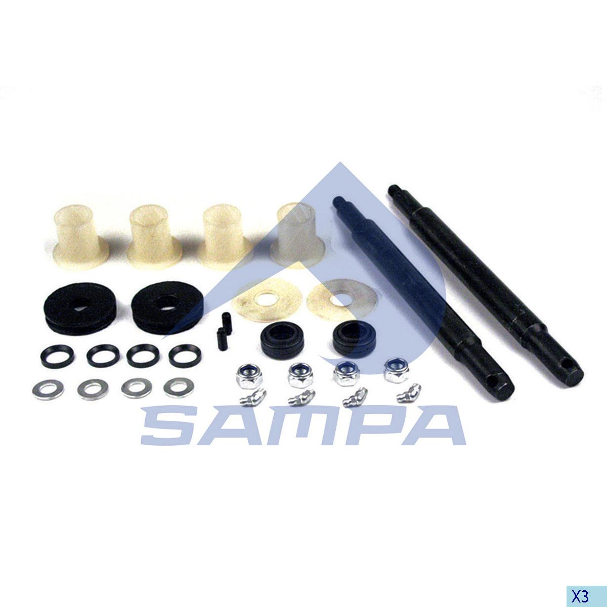 Repair Kit, Cab, Mercedes, Cab