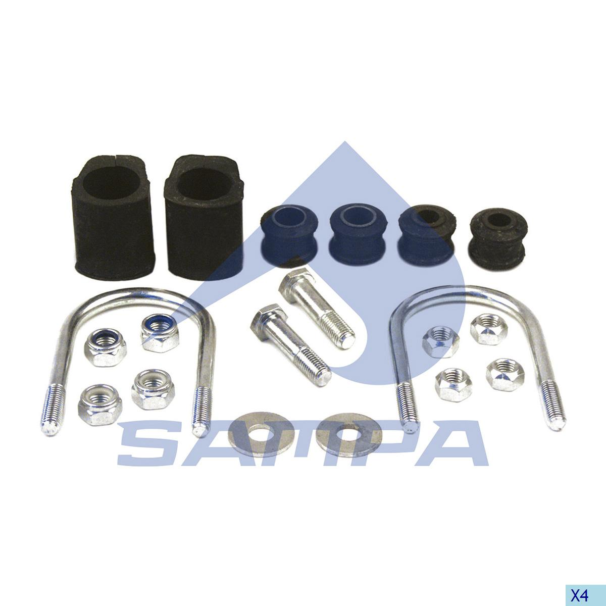 Repair Kit, Stabilizer Bar, Mercedes, Suspension