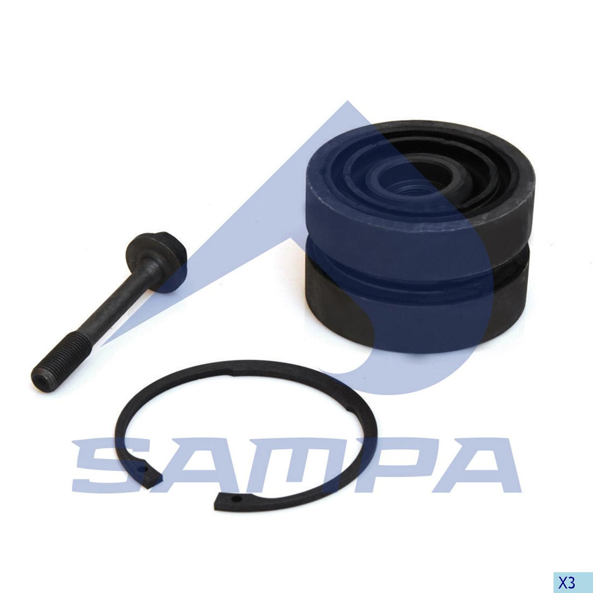 Repair Kit, Axle Rod, Daf, Suspension