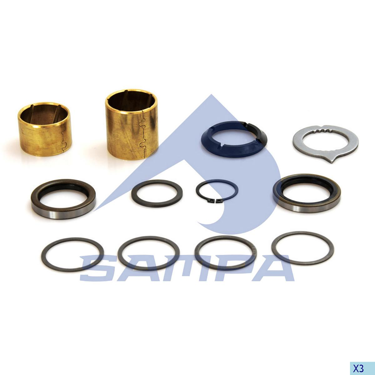 Repair Kit, Brake Cam Shaft, Mercedes, Brake