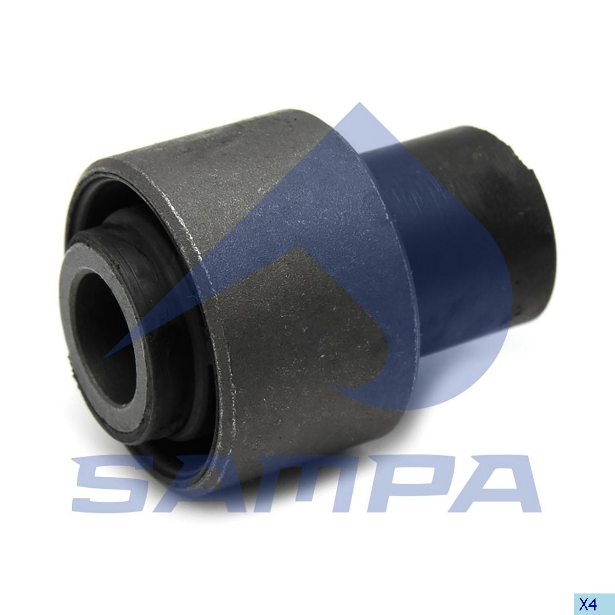 Rubber Bushing, Cab Tilt, Man, Cab
