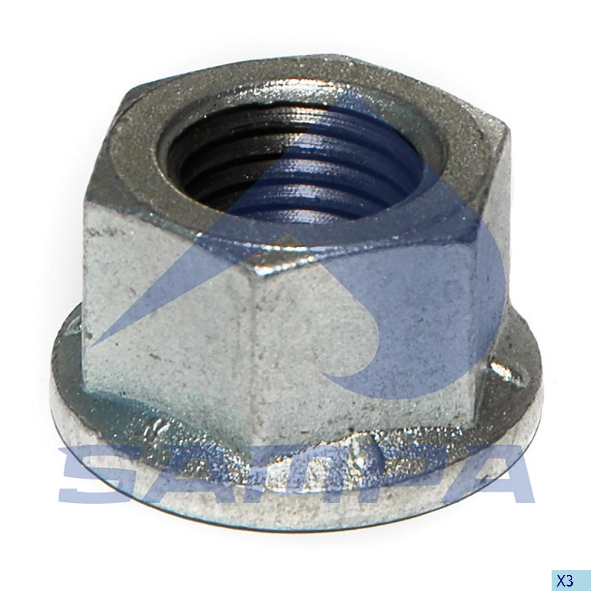 Nut, Stud, Bergische Achsen, Power Unit