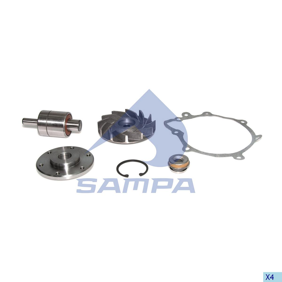 Repair Kit, Water Pump, Man, Engine