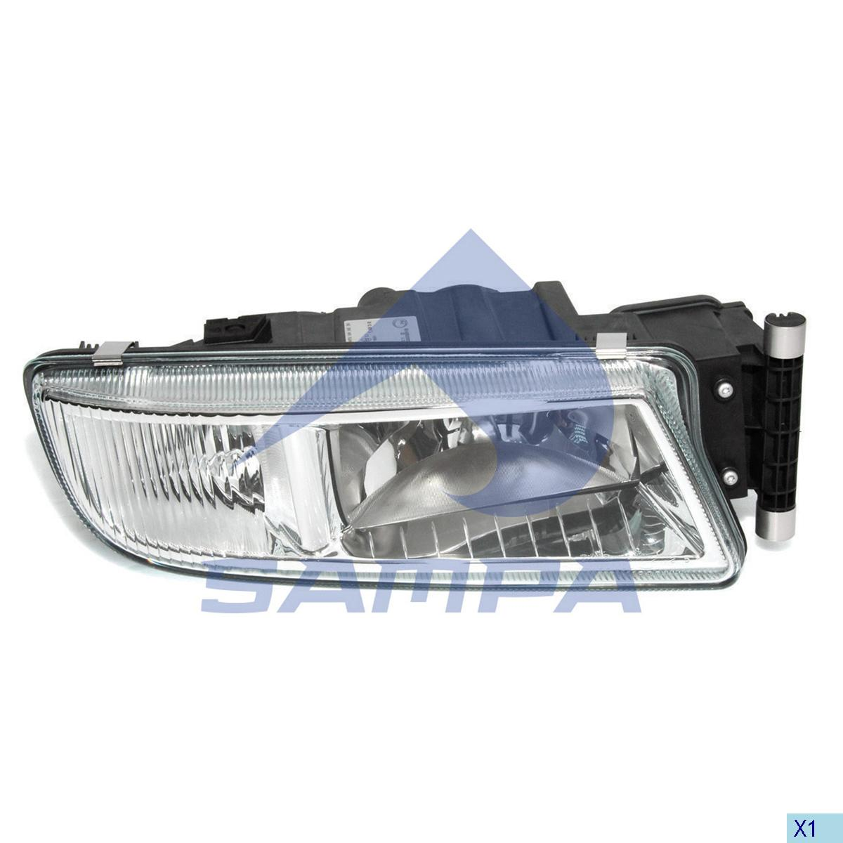 Auxiliary Lamp, Head Lamp, Man, Electric System