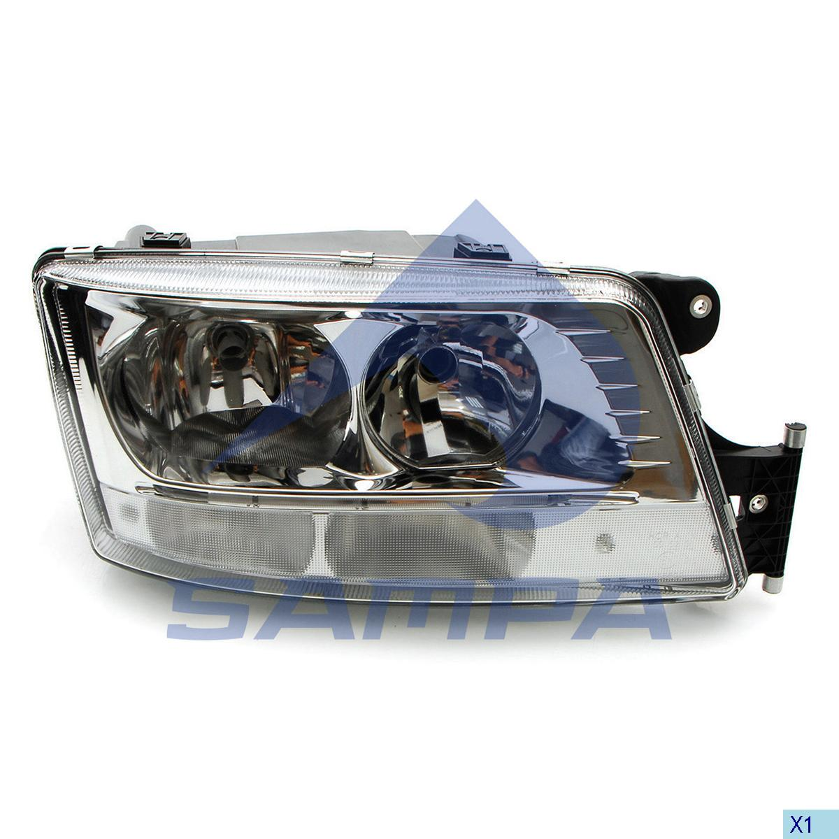 Head Lamp, Man, Electric System