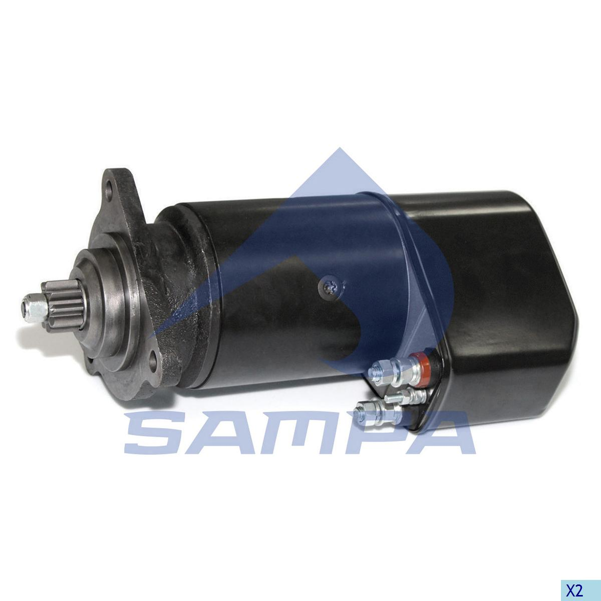 Starter Motor, Man, Electric System