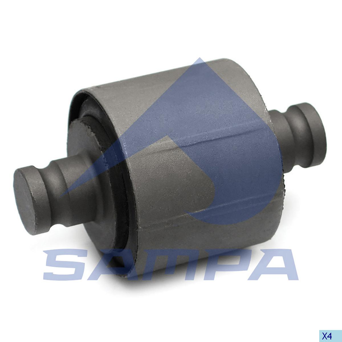 Rubber Bushing, Axle Rod, Volvo, Suspension