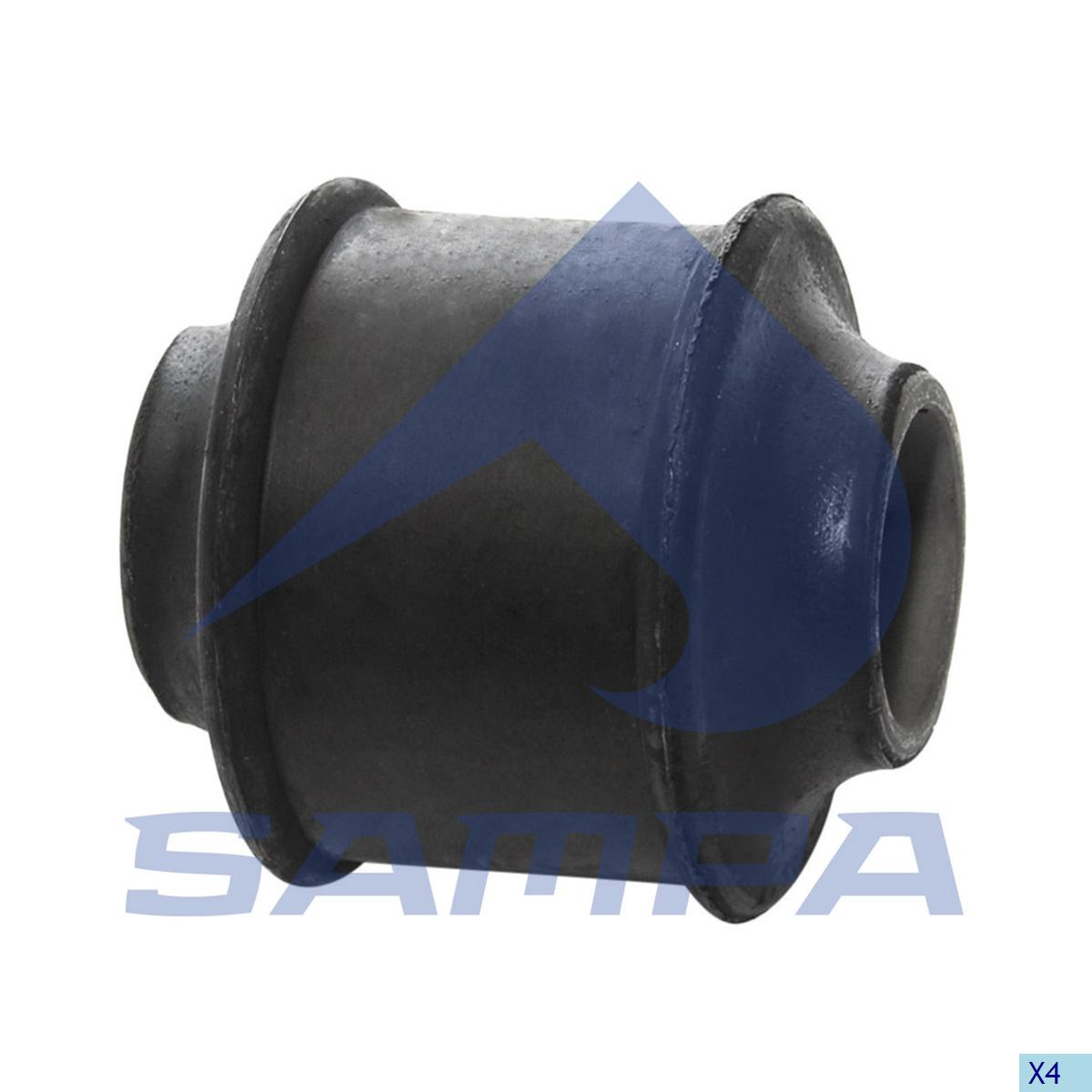 Rubber Bushing, Shock Absorber, Volvo, Suspension