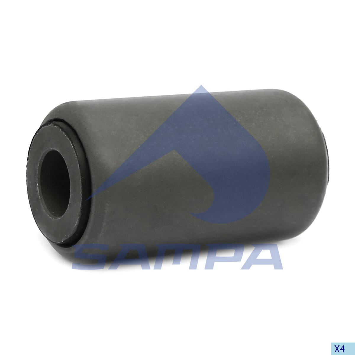 Rubber Bushing, Spring, Sauer Achsen, Suspension
