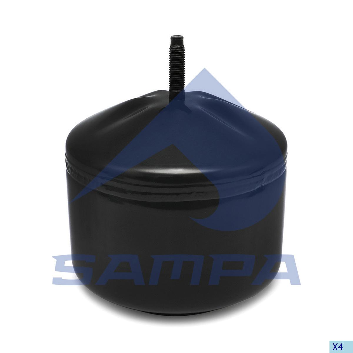 Piston, Air Spring, Volvo, Suspension