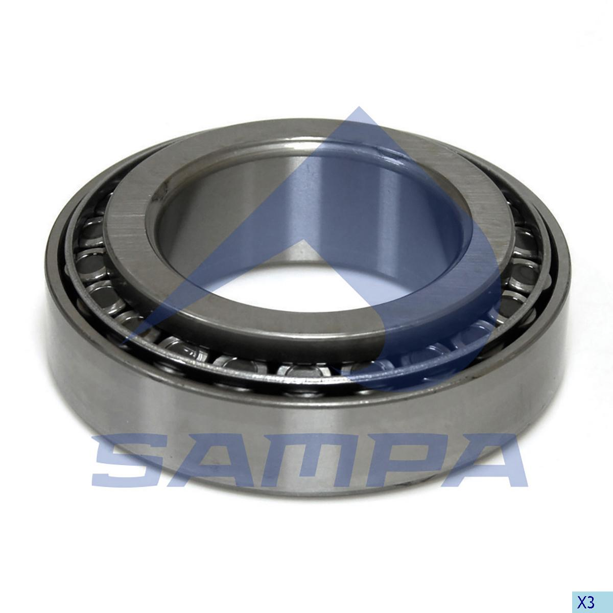 Bearing, Wheel Hub, Daf, Power Unit