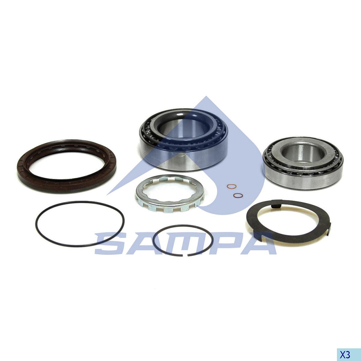 Repair Kit, Wheel Hub, Volvo, Power Unit