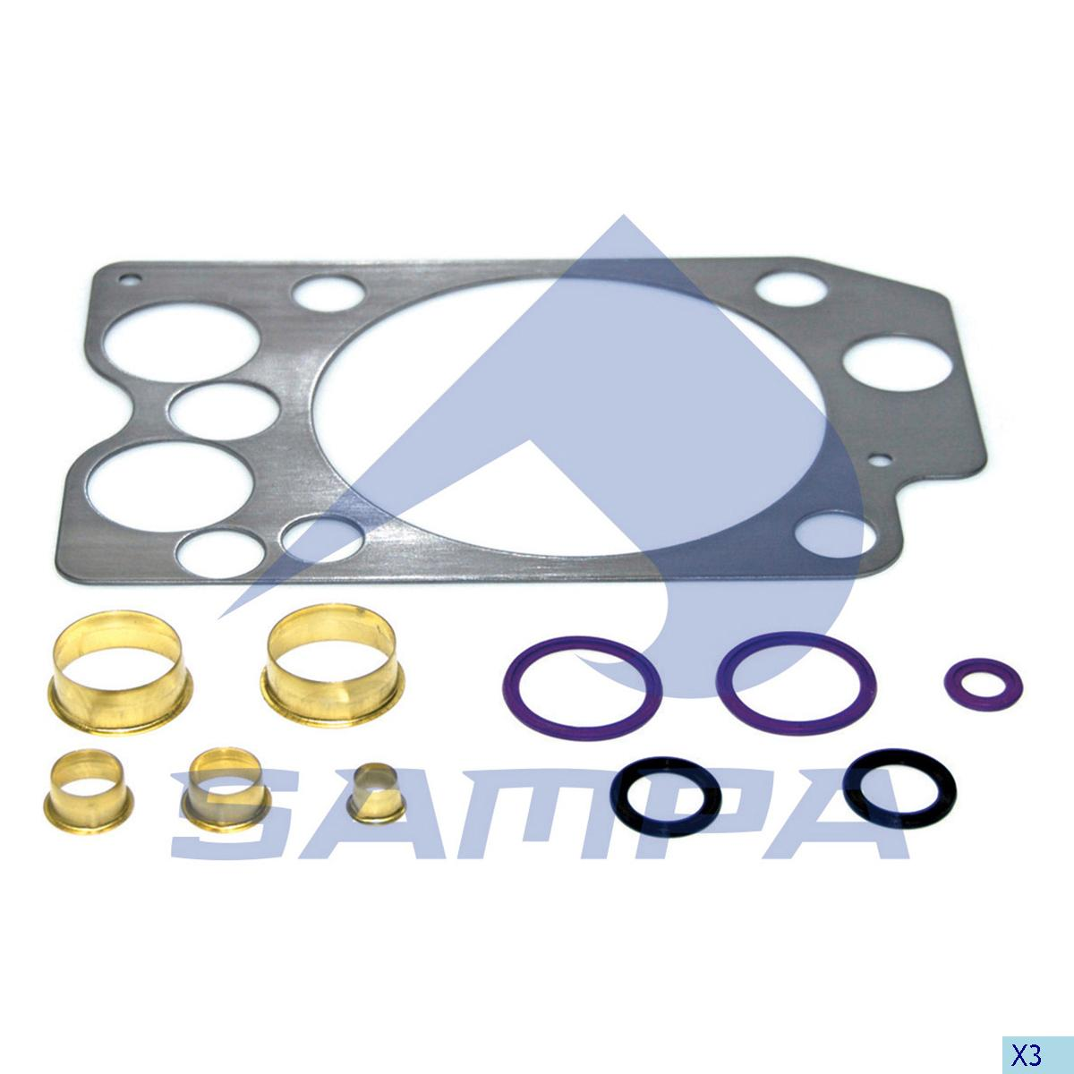 Gasket Kit, Cylinder Head, Volvo, Engine