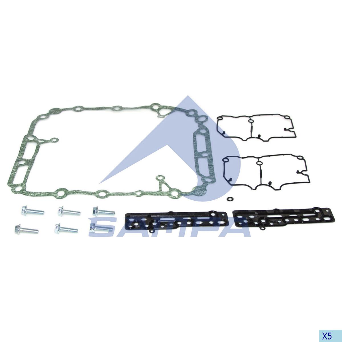 Gasket Kit, Gear Selector Housing, R.V.I., Gear Box