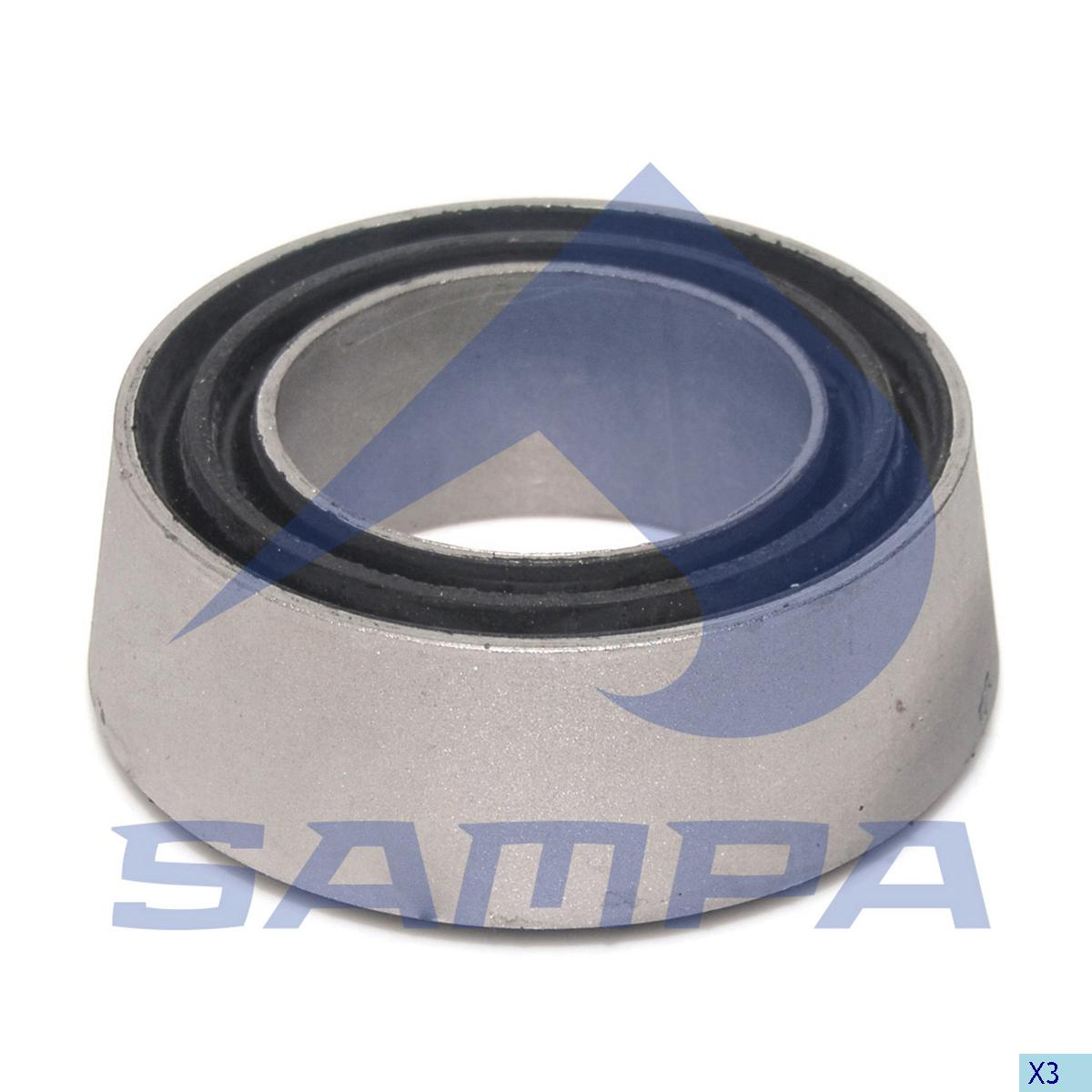 Rubber Bushing, Bogie Suspension, Volvo, Suspension